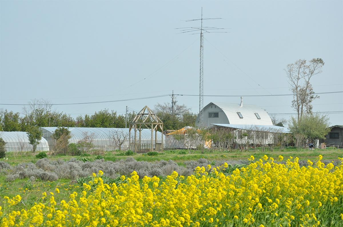 ハーブ農園ペザンとハーブ畑